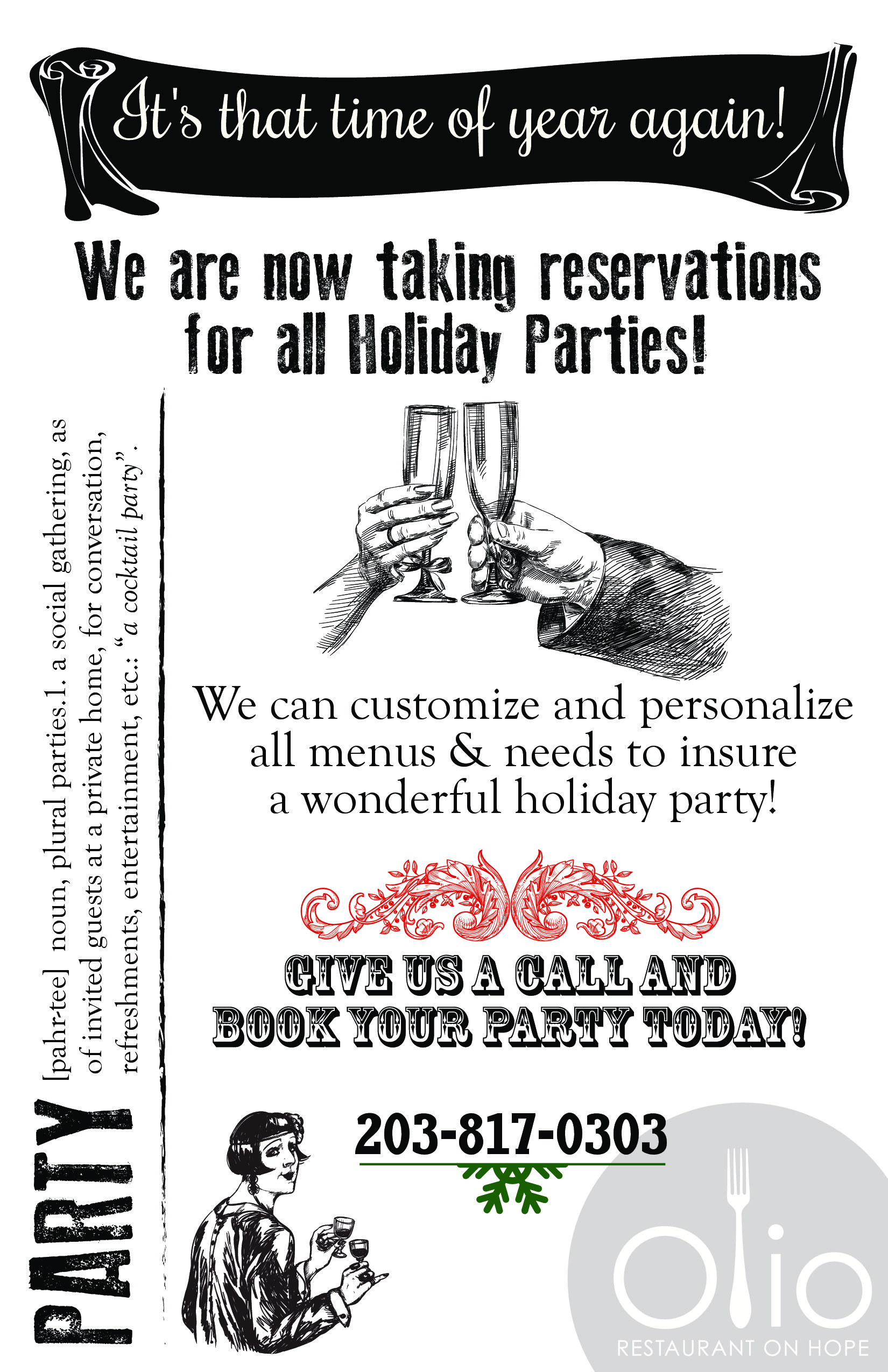Holiday Reservations